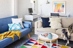 A living space inside Bayside Women's Shelter