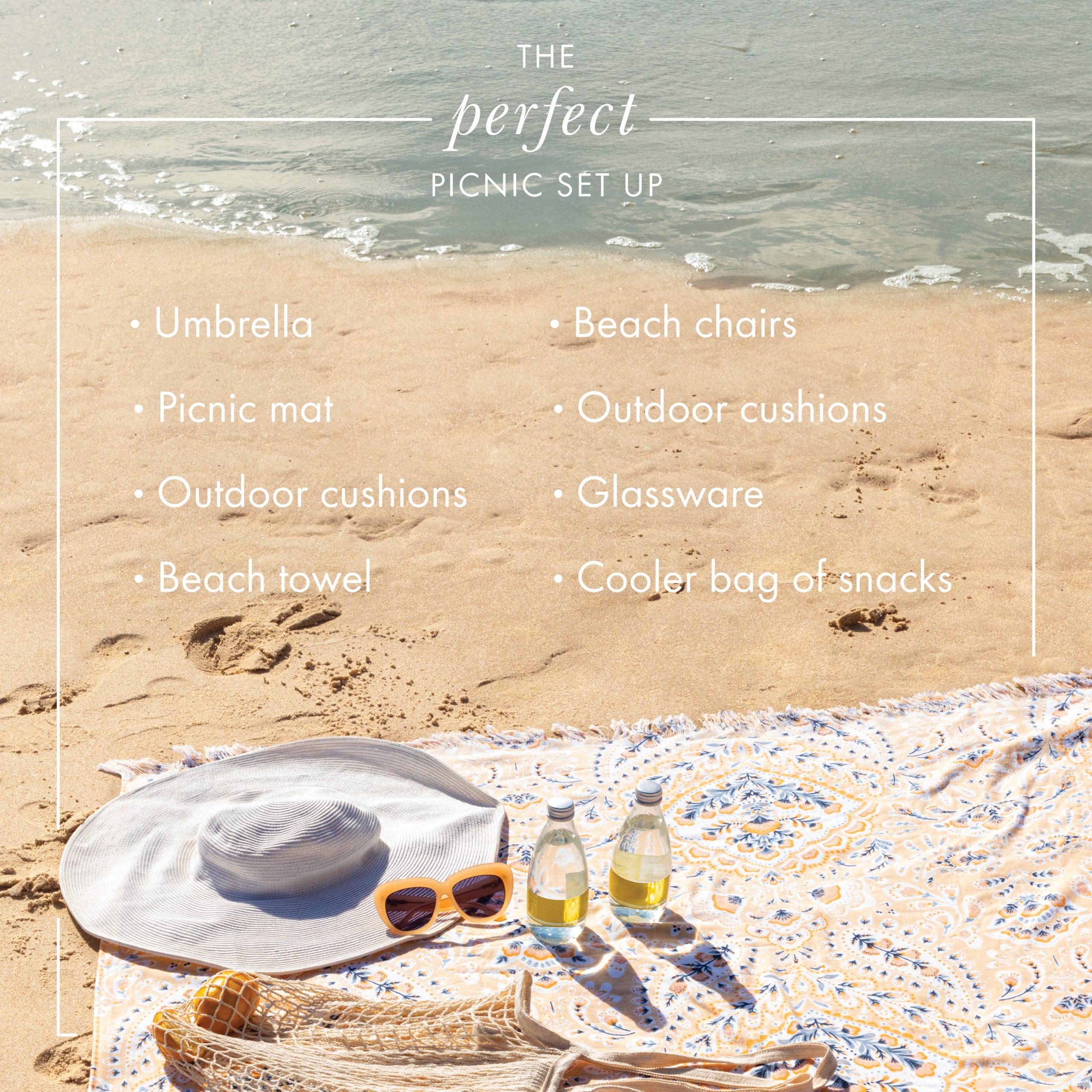 The perfect picnic checklist