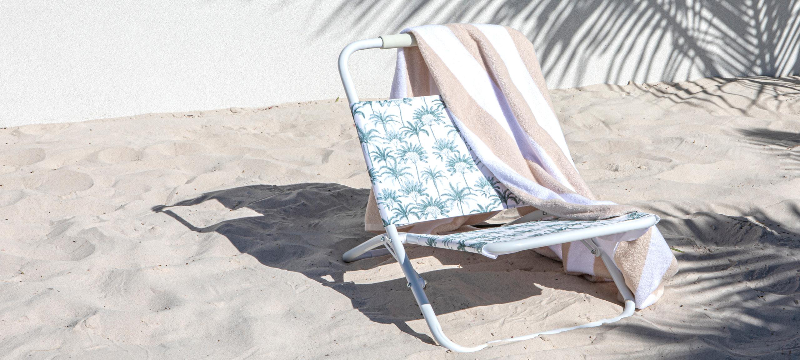 Pillow Talk beach chair