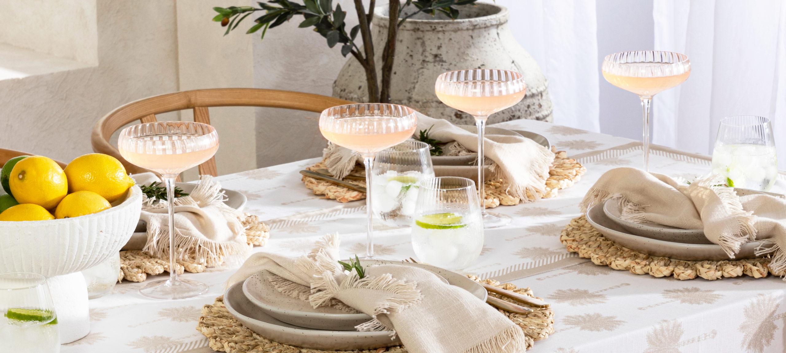 Briella glassware range